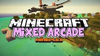 ч.01 Молочная корова в ярости - Minecraft Mixed Arcade