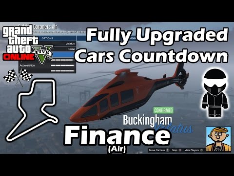 Fastest Finance DLC Vehicles (Air) - Best Fully Upgraded Cars In GTA Online