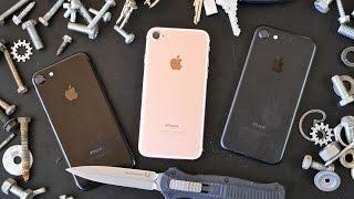 iPhone 7 Scratch Test! Knife vs Jet Black, Matte Black & Rose Gold(, 2016-09-16T23:13:15.000Z)