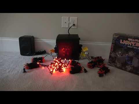 Gemmy Halloween Musical Light-Show Soundbox Timer
