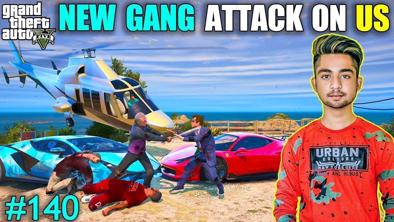 NEW GANG ATTACK ON MICHAEL | BALLAS GANG LEADER ESCAPE FROM MICHAEL | GTA V GAMEPLAY #140