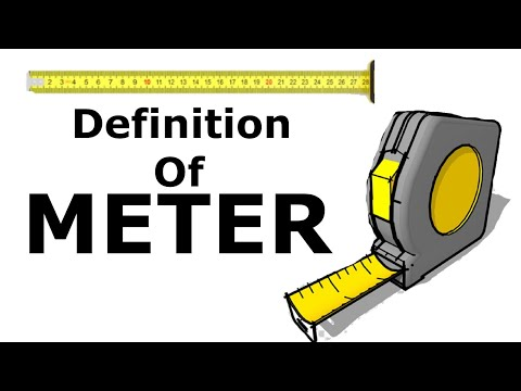 What Is One Meter