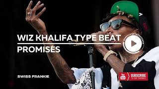 "Wiz Khalifa ft. Post Malone Type Beat - ""Promises"" - Piano 