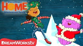 Christmas Is A Feeling | DREAMWORKS HOME: FOR THE HOLIDAYS