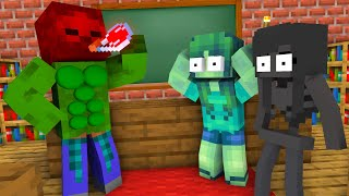 Monster School : Epic Zombie Brewing Challenge - Minecraft Animation