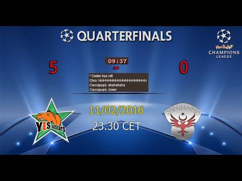 Haxball Champions League #10 | YeS AllStars (FM) - Brentford (TR)