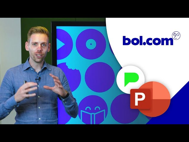 PowerPoint template Bol.com | Portfolio | PPT Solutions