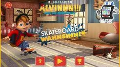 Chipmunks SKATEBOARD WAHNSINN Spiel deutsch | OLLIE ÜBER SCHLAGZEUG | Spiel mit mir Games