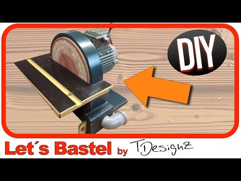 🔥Tellerschleifer selber bauen | Schleifmaschine selber bauen |Wie mache ich das?