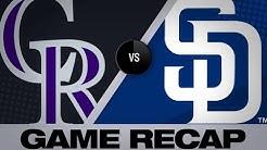 4/15/19: Arenado, Desmond homer in win over Padres