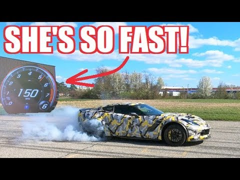 FRESHLY BUILT 1,000HP Z06 is BACK! She Absolutely RIPS!!!