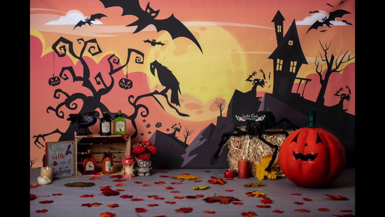 Behind-The-Scenes: Mini Sesión Halloween