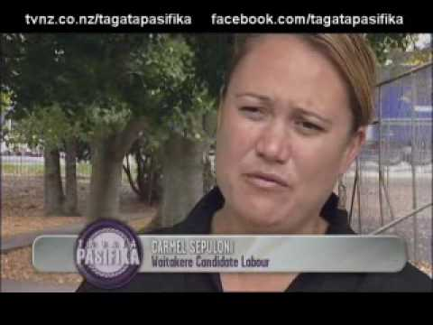 Profile of Tongan List MP Carmel Sepuloni Tagata Pasifika TVNZ 25 March 2010.wmv