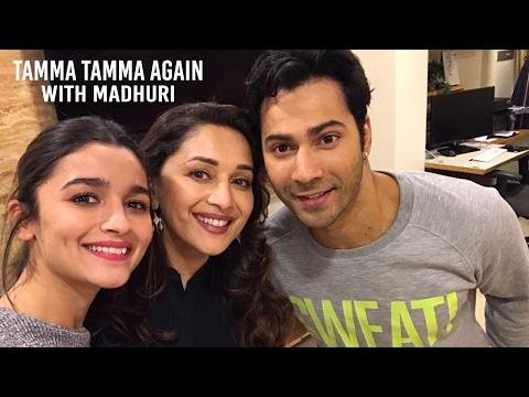 Varun & Alia Tamma Tamma with Madhuri Dixit Nene! | Badrinath Ki Dulhania