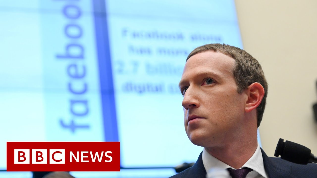 Mark Zuckerberg denies claims that Facebook puts profits before people - BBC News