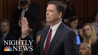James Comey Memos Describe Focus On Michael Flynn | NBC Nightly News thumbnail