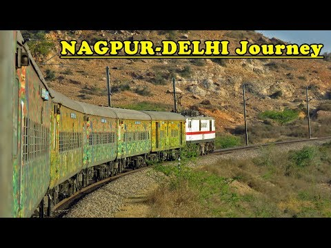 Nagpur - Delhi Journey in DURONTO Express : Indian Railways