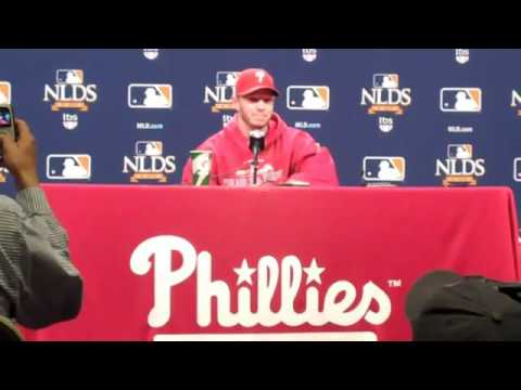 Roy Halladay's Post-Game Press Conference