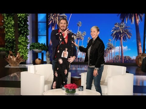 Dax Shepard Gets the Brad Pitt Overalls of His Dreams