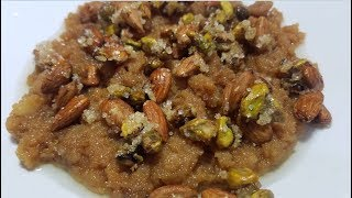 Makhandi Halwa Crisp Recipe by hamida dehlvi