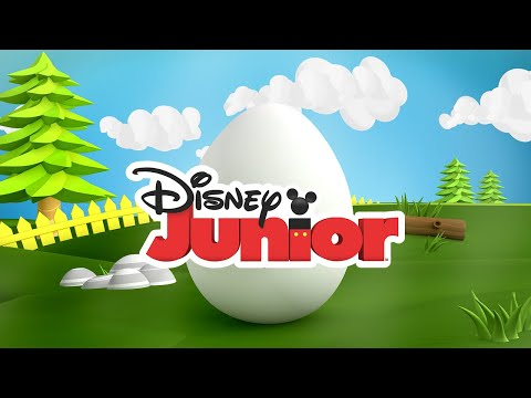 Guess What's in the Egg! Compilation | Disney Junior