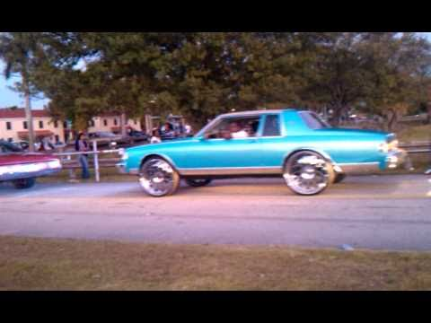 2 Door Box Chevy on 26S - Donks On S And Door Box Chevy S At Goulds Park In Dade County On Christmas - 2 Door Box Chevy on 26S