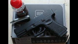 You need to get a Glock 19 BB gun (officially licensed by Glock)