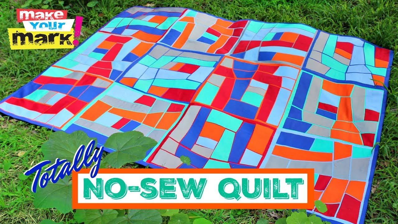 No-Sew Quilt - YouTube on