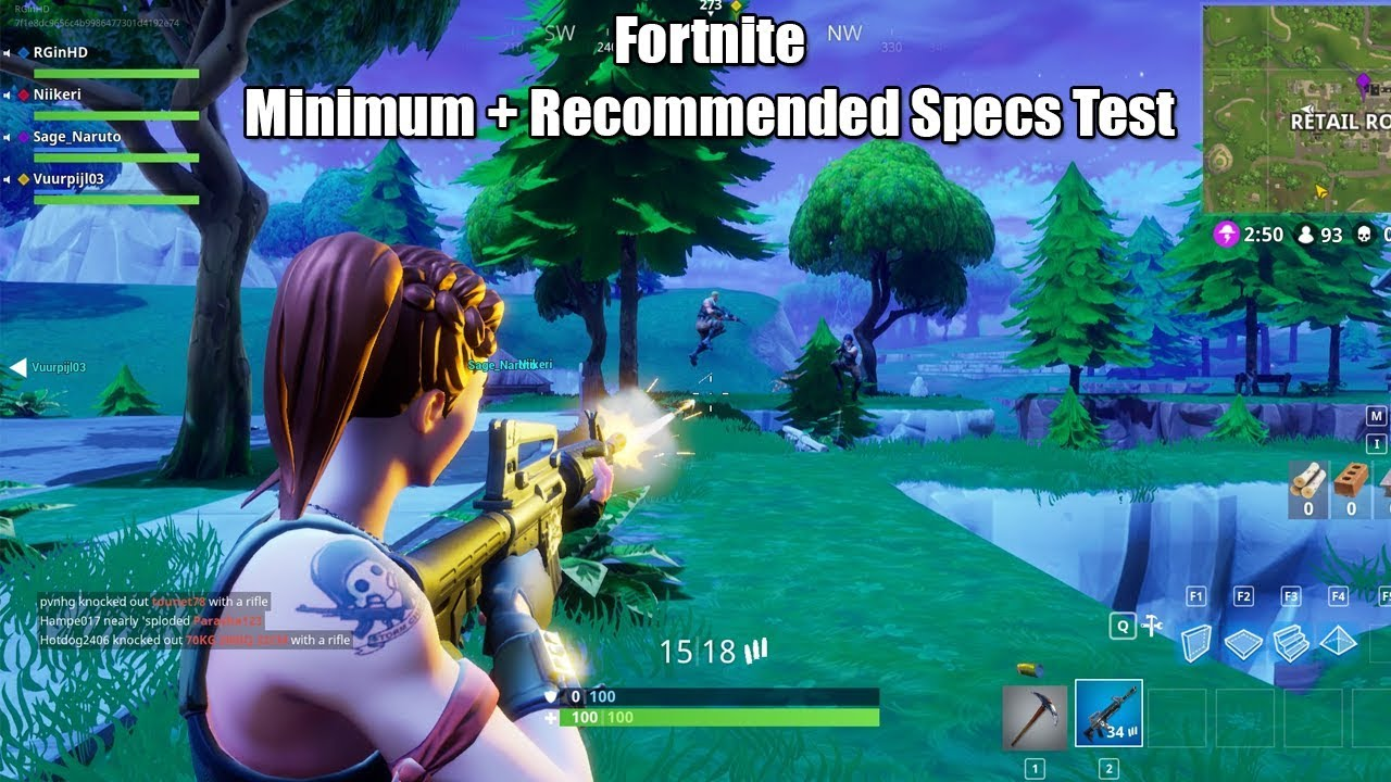 Fortnite: System Requirements (PC and Mac) | Metabomb