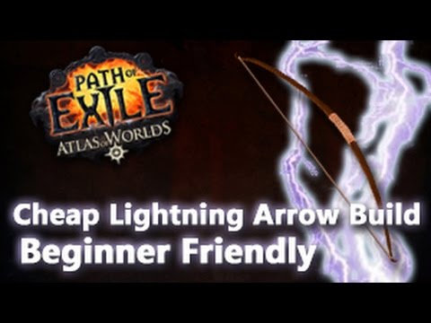 Path of Exile Beginner Friendly Lightning Arrow Build