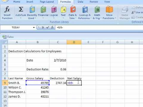 How to Create a Spreadsheet using Excel - YouTube - how to make a sign in sheet using excel