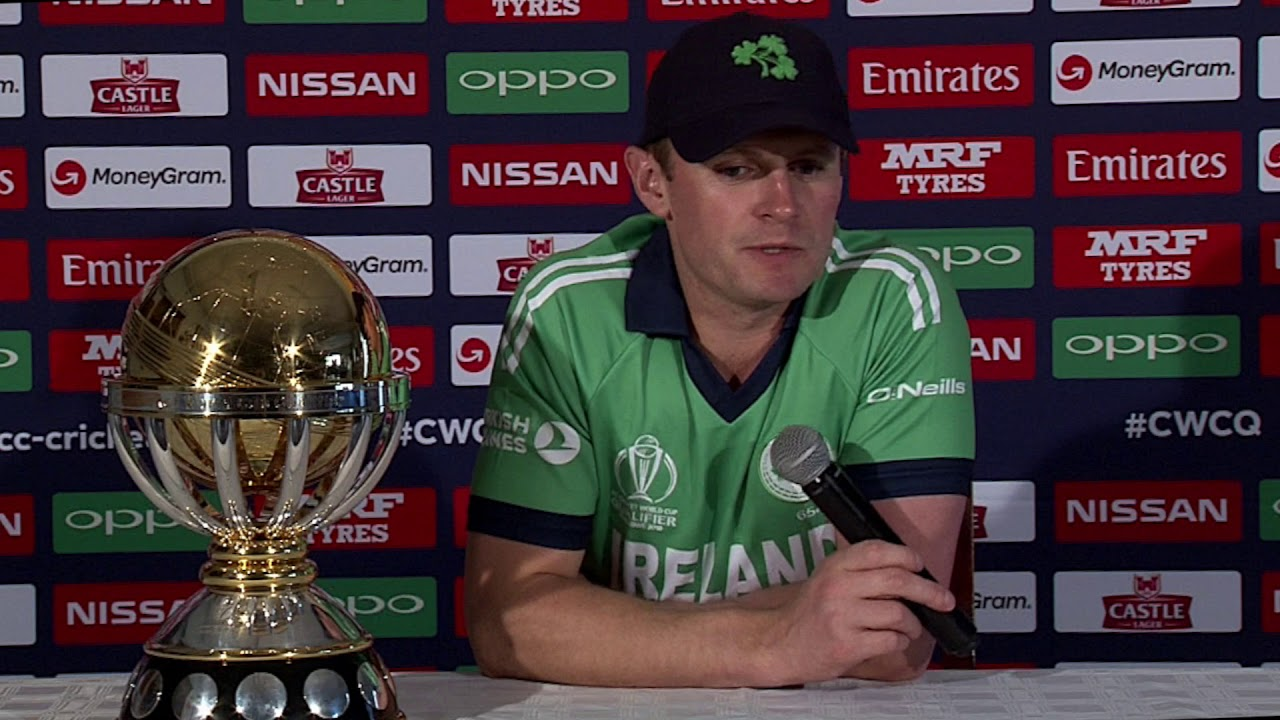 ICC Cricket World Cup Qualifier: Ireland captain William Porterfield's Press Conference