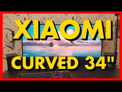 "Монитор 34"" Xiaomi Mi Curved Gaming Monitor"
