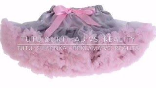 Aliexpress tutu skirt unboxing and review Otváranie balíčku s tutu sukničkou z Aliexpress