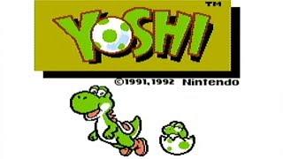 Yoshi - NES Gameplay