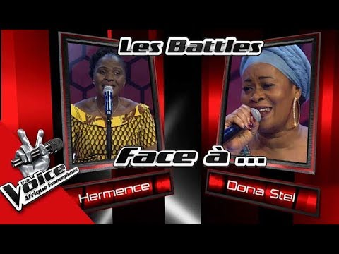 Hermence VS Donastel « Bom feeling» de Sara Tavares Les Battles   The Voice Afrique Francophone 2017
