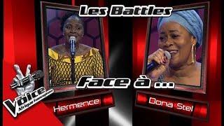Hermence VS Donastel « Bom feeling» de Sara Tavares Les Battles | The Voice Afrique Francophone 2017
