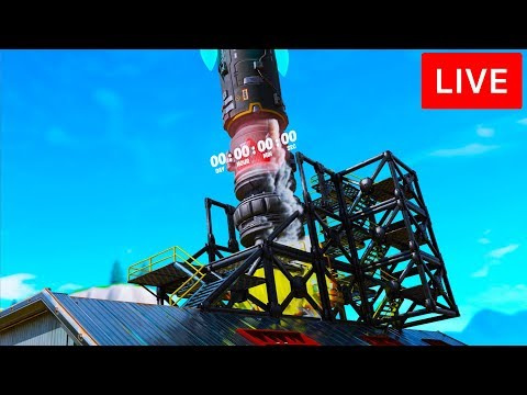 🔴 [LIVE] *NEW* FORTNITE ROCKET LAUNCH EVENT! SEASON 11 / CHAPTER 2 EVENT! (FORTNITE BATTLE ROYALE)