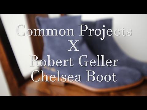 Common Project x Robert Geller Chelsea Zip-up Boot Unboxing + Review