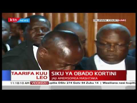 BREAKING: Governor Okoth Obado to be remanded at Industrial Area Prison