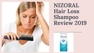 Nizoral Hair Loss Anti dandruff shampoo Review | Does it really work