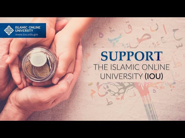 Support the Islamic Online University (IOU)