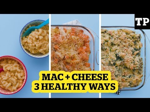 3 Healthy Mac And Cheese Recipes Your Kid Will Actually Eat | Eats + Treats