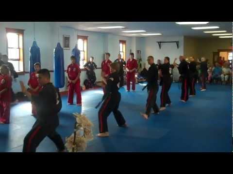 Black Belt Test 2011: Group Patterns