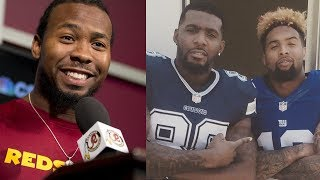 """Josh Norman THREATENS Odell Beckham Jr & Dez Bryant: """"There's Going to Be BAD Blood This Year"""""""