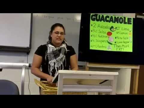 CMST&101 INTRODUCTION TO COMMUNICATION -- DEMONSTRATION/INSTRUCTION SPEECH--RACHEL