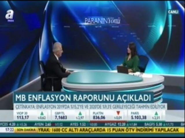 TÜSİAD Yönetim Kurulu Başkanı Erol Bilecik A Para'da Özlem Doğaner'in Konuğu Oldu