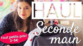 Haul vêtement 👗 seconde main ♻ (2-5€!) | Milena & Co