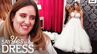 Will the Bride Find Bling on a Budget? | Say Yes To The Dress UK