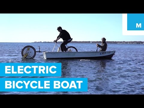 Can an Electric Bicycle Wheel Power a Boat?